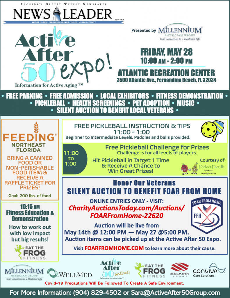 FB Active After 50 Expo Flyer