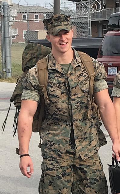 Cpl Justin Michael Huppmann, USMC  2016-2020